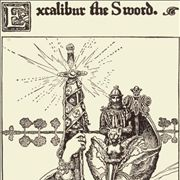 Picture Of Excalibur The Sword By Howard Pyle