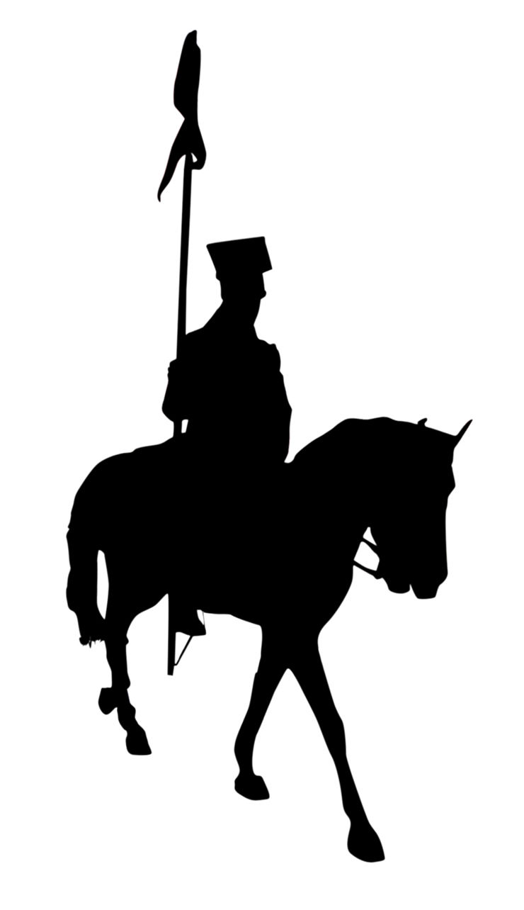 Picture Of Horseman With Sword