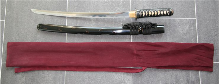 Picture Of Japanese Wakizashi Sword