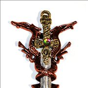 Picture Of Large Sword Shaped Pendant