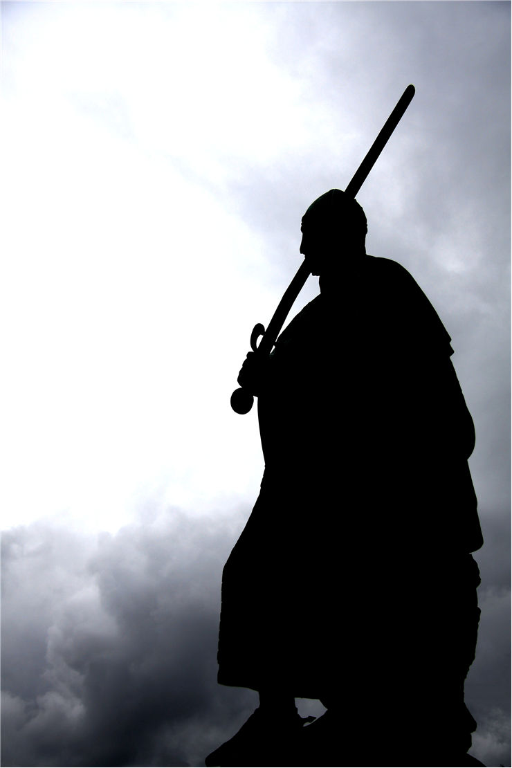 Picture Of Medieval Warrior With Sword