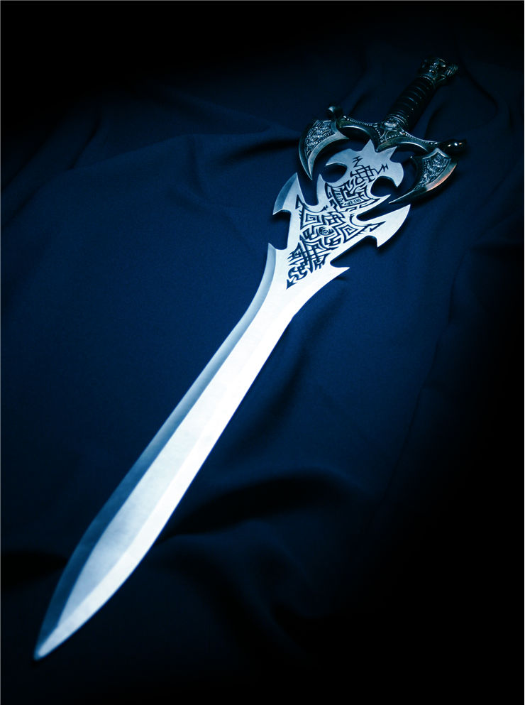 Picture Of Metal Sword