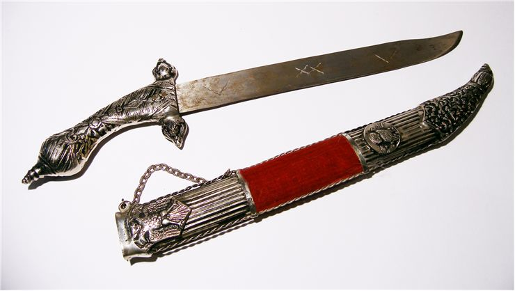 Picture Of Old Sword Knife