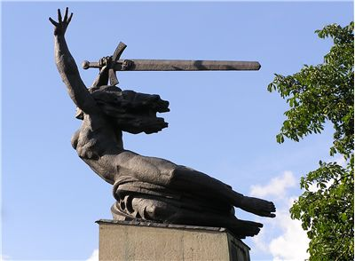 Picture Of Sword On Nike Monument