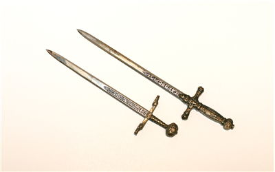 Picture Of Sword Shape Envelope Knifes