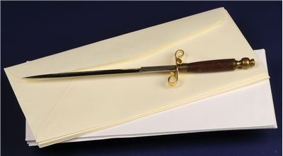 Picture Of Sword Shape Letter Opener